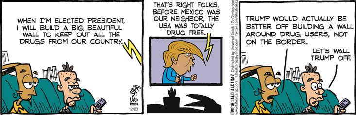 La cucaracha comic strip lesson