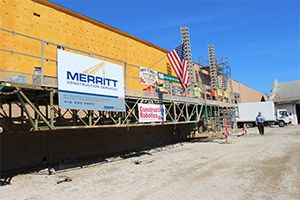 Merritt Construction Services Uses SAM to Lay Bricks on a Job