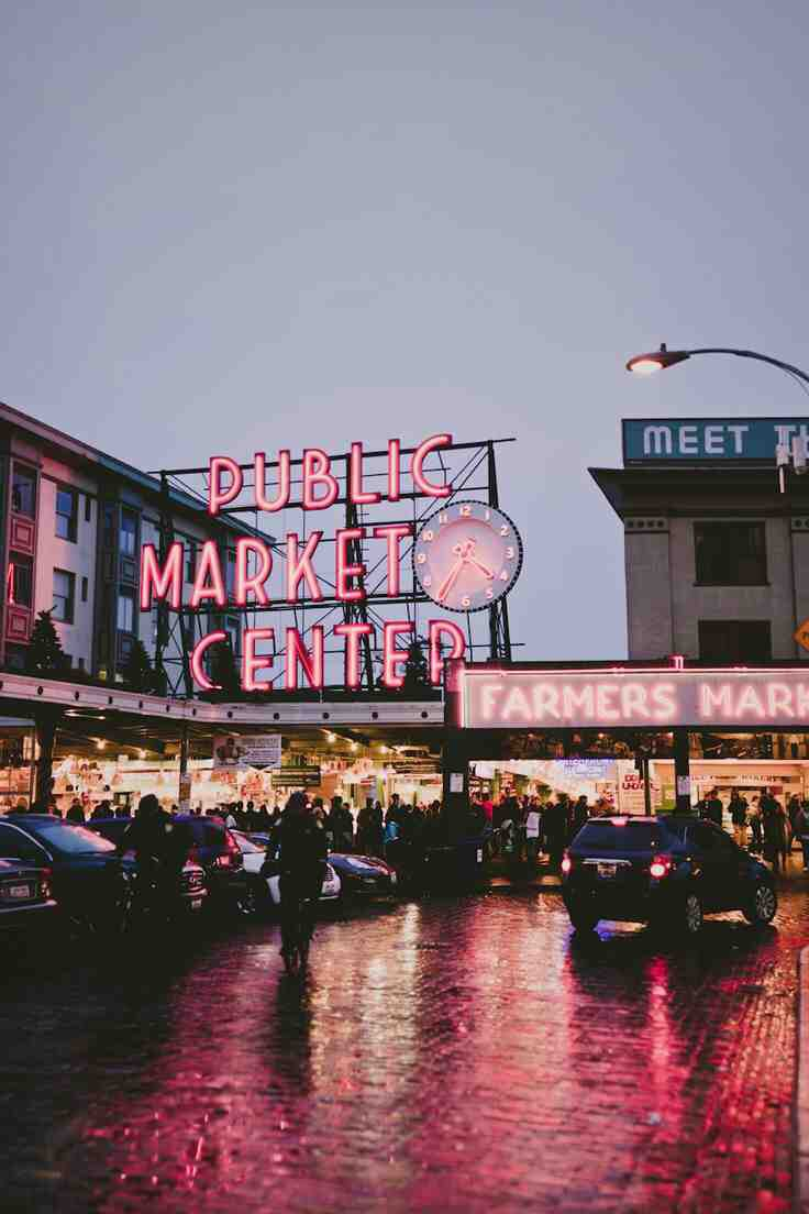 Seattle Must See The Pike Place