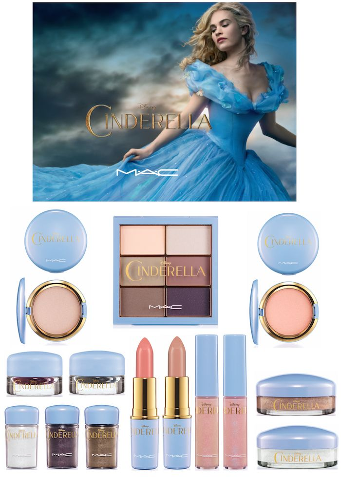 The MAC Cinderella makeup collection inspired by the live action movie! SOOO pretty!