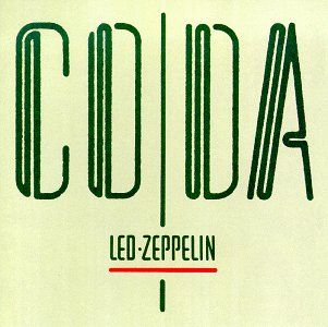 LED ZEPPLIN CODA $14.99