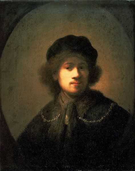File:Rembrandt van Rijn - Portrait of the Artist as a Young Man - Google Art Project.jpg