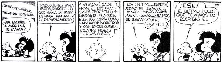 About Translation: Mafalda, Libertad and translation