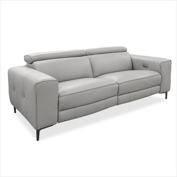 Esther Recliner Sofa Grey In 2020 Reclining Sofa Gray Sofa Sofa