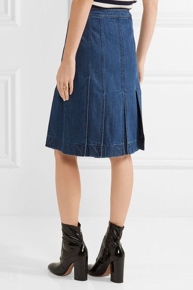 Michael Kors Collection - Denim Skirt - Mid denim - US12