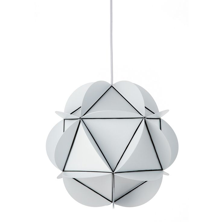 Add bold design to your lighting collection with this Illumin Rubber20 pendant lamp from Dyberg Larsen. Linked with natural black rubber bands, the lampshade is made from bright white polypropylene ar