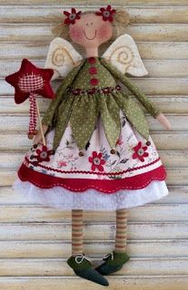 free pattern for Christmas Angel