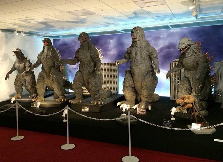 Godzilla suits