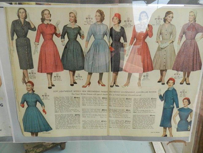vintage fashion, 200 years of australian fashion, melbourne fashion festival,1950's fashions, 1950's dresses, 1950's magazines,