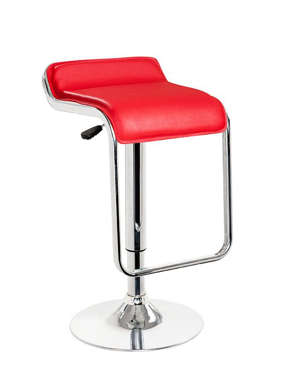 Modrest Mick - Contemporary Red Bar Stool  sc 1 st  Pinterest : red swivel bar stools with back - islam-shia.org