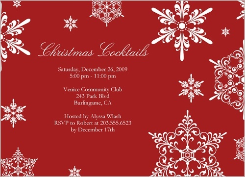14 best Winter   Holiday themed Wedding Invitations images on - free xmas invitations