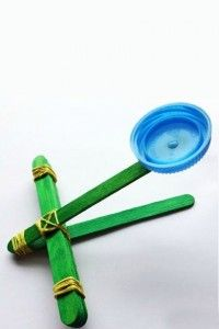 Easy {and Fun} Catapult for Kids to Make from the Kids Activity Blog