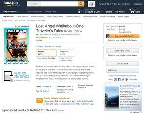 Book Review: Lost Angel Walkabout-One Traveler's Tales by Linda Ballou