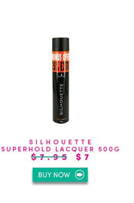 Silhouette Pure Super Hold Lacquer provides super hold while maintaining great shine and vitality. Silhouette Pure Super Hold formulation with micro-fine formers for long lasting yet invisible strong hold without burdening the hair. Quick drying without stickiness. Brushes out easily.