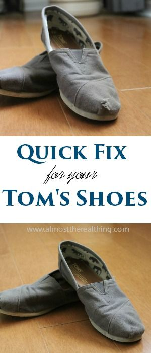 Save your money and keep those Tom's shoes going!