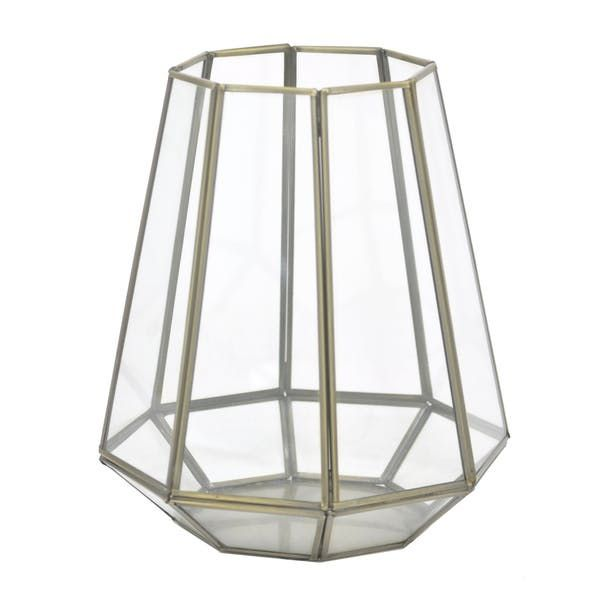 Three Hands Metal/Glass Candle Lantern - Gold - 12382. This Three Hands lantern is a perfect transitional piece that can be used outdoors on a porch or patio, or indoors in lieu of open candleholder. With their warm, soft glow, it's impossible to have too many candle lanterns.