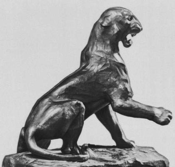 ВАСИЛИЙ ВАТАГИН Тигр. 1925–1926