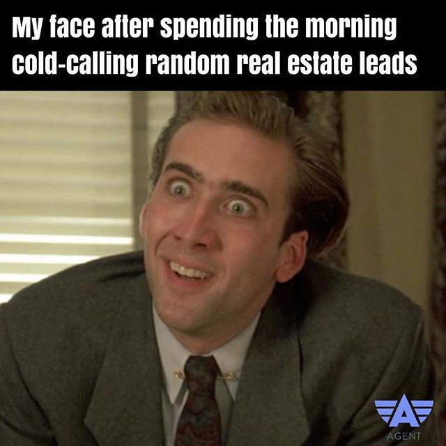 Your mom always said if you made that cold-calling for too long, it would freeze like that. #realestate #realestateagent #realestatelife #meme