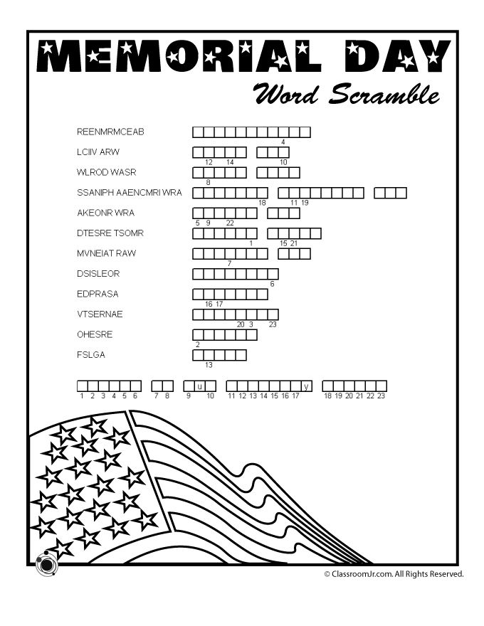 Memorial Day Easy Worksheets : Best memorial day activities ideas on pinterest july