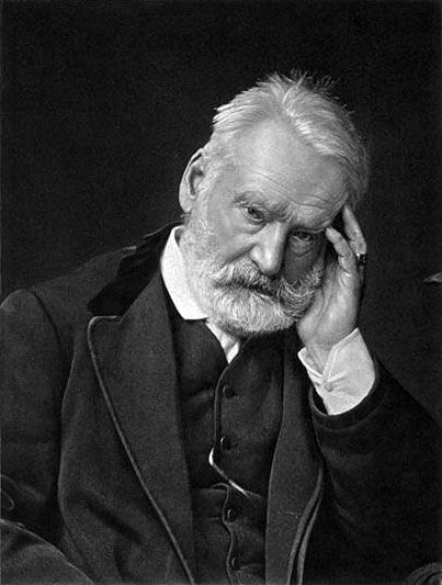 Victor Hugo - poet, playwright, novelist, essayist, visual artist, statesman, human rights campaigner (1802-1885)