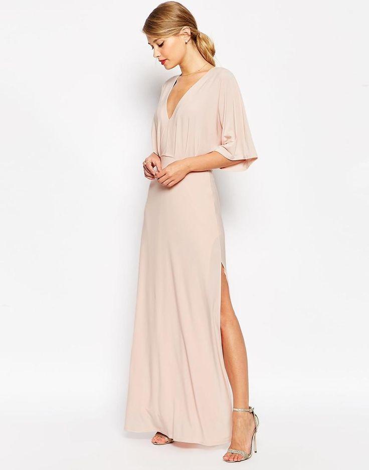 Bridesmaid dresses :).    ASOS | ASOS Kimono Plunge Maxi Dress at ASOS
