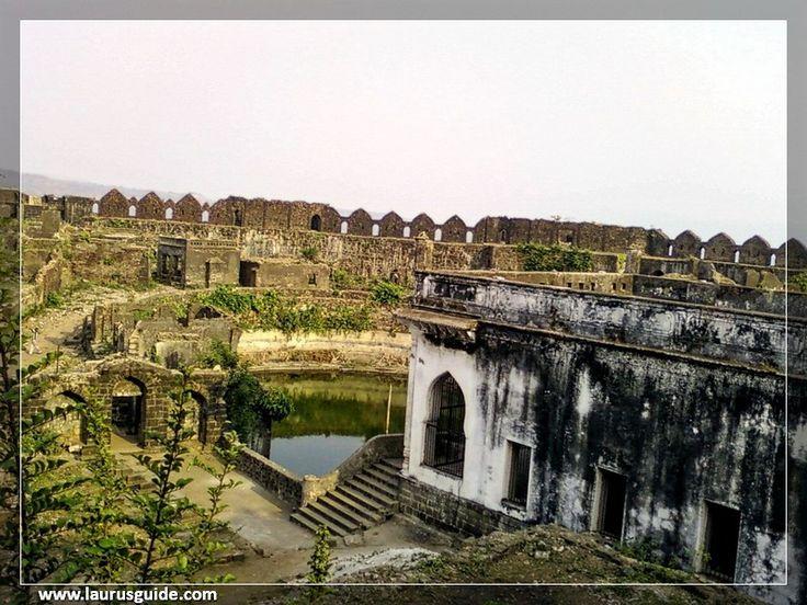 Inside the Janjira fort castle