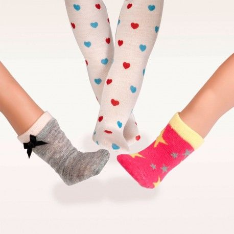 Our Generation - Fashion Accessories - Heart & Sole (Tights & Socks Set)