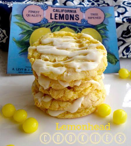 BLISSFUL ROOTS: Lemonhead Cookies
