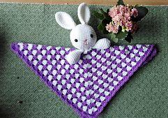 free crochet pattern lovey bunny amigurumi