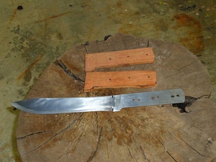 C mo hacer cabos para cuchillos de f cil hechura en casa - Como hacer soporte para cuchillos ...