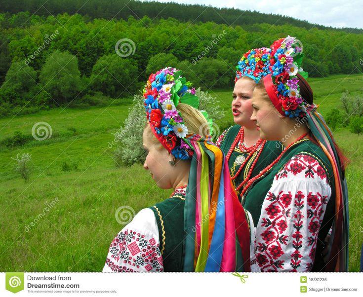 Ukrainische Frauen Redaktionelles Foto - Bild: 18381236