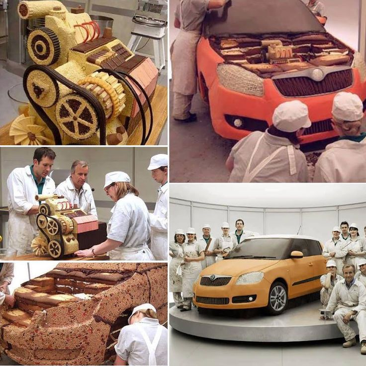 Cake Skoda Fabia - DIY Ideas - Google+