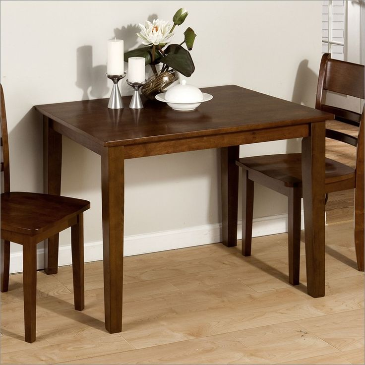 Little Kitchen Table: Effigy Of The Small Rectangular Dining Table That Is