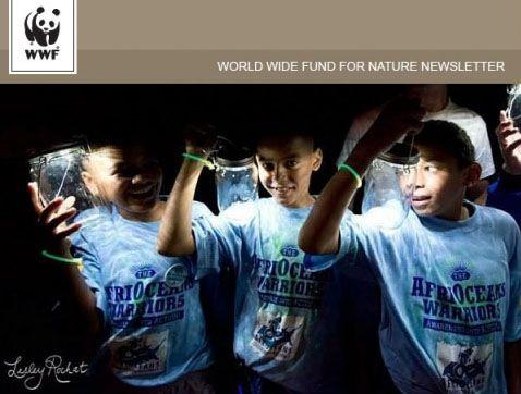 AfriOcean Worriors and Consol Solar Jars on Earth Hour