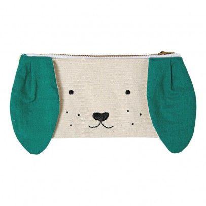 Cotton Case - Dog Beige Meri Meri