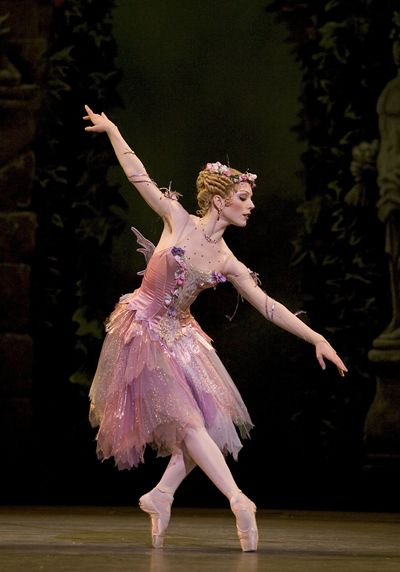 "Sarah Lamb as The Summer Fairy in ""Cinderella"" (Royal Ballet). Photo by Bill Cooper"