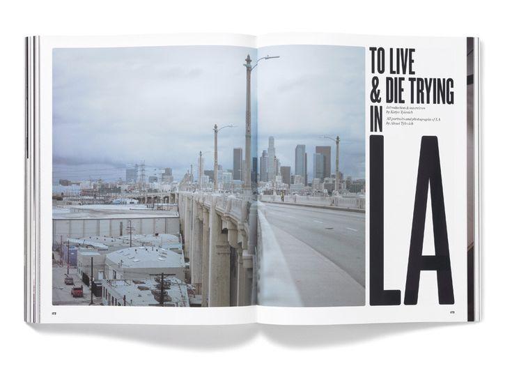 Title text arrangement | Elephant Magazine, Issue 3 - Matt Willey