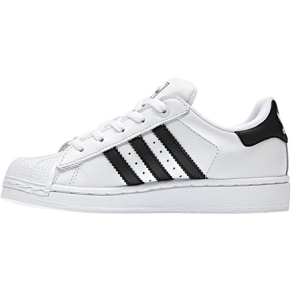 Adidas Superstar 2 Shoes (3.530 RUB) ? liked on Polyvore featuring white