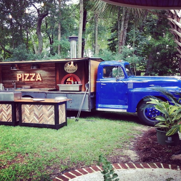 Custom Catering Pizza Truck Food Truck