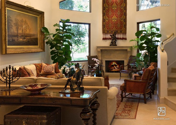 Spanish Old World Living Room Maraya Interior Design