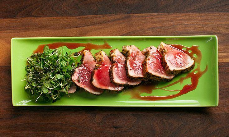 Tataki de thon albacore #tataki #tuna #fresh #foodlavie