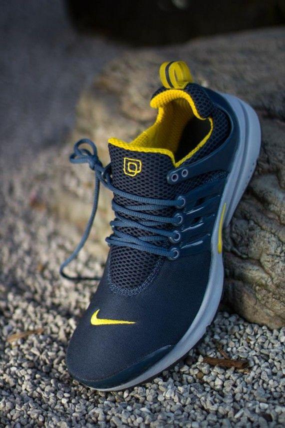 Nike Air Presto - Squadron Blue / Vivid Sulfur | KicksOnFire.com