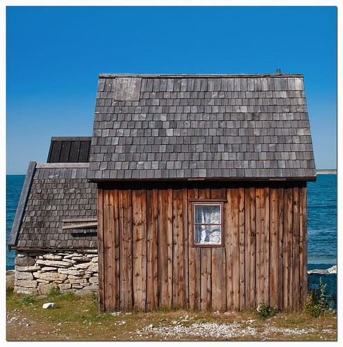 Rural fisherman's house in Fårö, Gotland Island, Sweden. by Silversnow, via Flickr