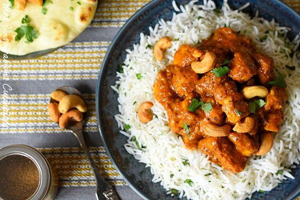Poulet Korma Recette Poulet Korma Cuisine Indienne Et Korma