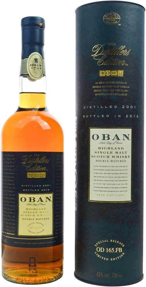 Oban Distillers Edition Single Malt Scotch Whisky | @Caskers