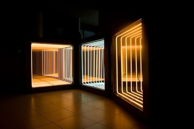 Pioneering Light Artist Paolo Scirpa's Infinite Neon Loops Continue To Enchant | The Creators Project