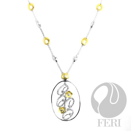 FERI Flower Links - Necklace