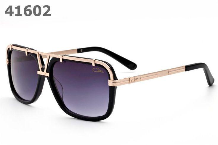 Cazal Sunglasses 8003 gold purple lens