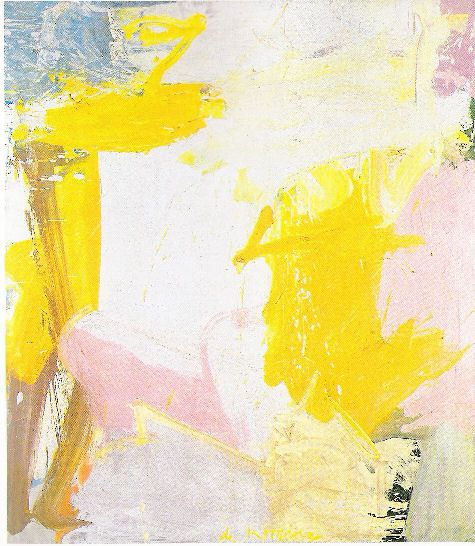 ahnini:  Willem de Kooning, Rosy fingered dawn at Louse Point
