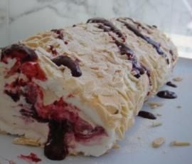 Recipe Rolled Pavlova by Thermomix in Australia - Recipe of category Desserts & sweets